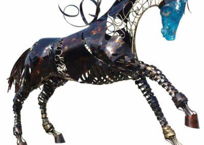 Les œuvres de Franck Leray artiste sculpteur, présentées par la galerie en ligne franco-suisse Les Koronin.