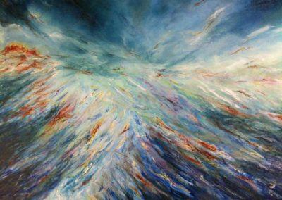 Les œuvres de Dzyan (Eric Jarque), artiste peintre, présentées par la galerie en ligne franco-suisse Les Koronin.