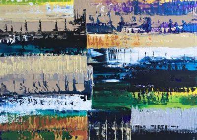 Les œuvres d'hélène Dekoninck, artiste peintre, présentées par la galerie en ligne franco-suisse Les Koronin.