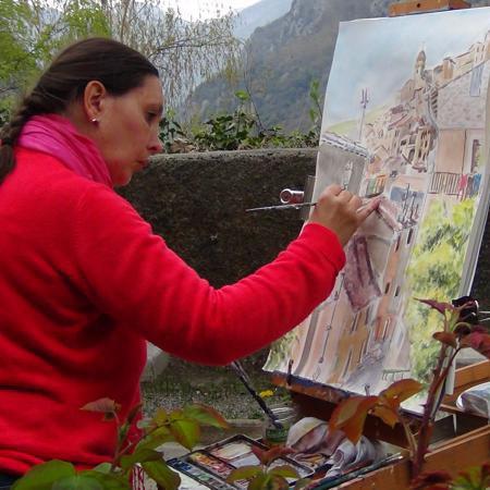 Les œuvres d'Isabelle Morin présentées par la galerie en ligne franco-suisse Les Koronin. Faites comme Isabelle Morin, vendez votre Art