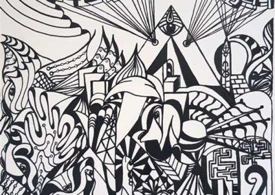 Les œuvres de Céline Donnet exposées dans la galerie en ligne Les Koronin