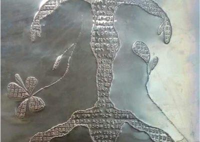 Les œuvres de Kendra Pineda Mesa, artiste peintre romain, présentées par la galerie en ligne franco-suisse Les Koronin.