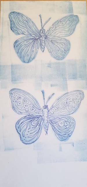 Die französisch-schweizerische Online-Kunstgalerie Die Koronen, unsere deutsche Künstlerin Gisela Kentmann