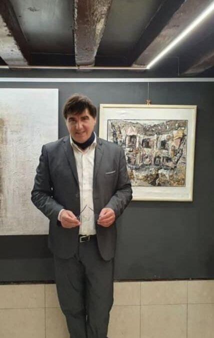 Pietro Asaro et l'INTERNATIONAL CONTEMPORARY ART Venise
