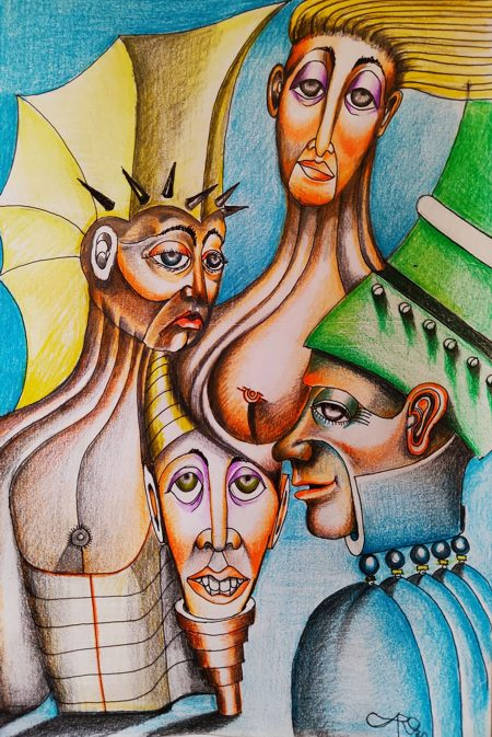 Galerie en ligne franco suisse, Fabian Caro