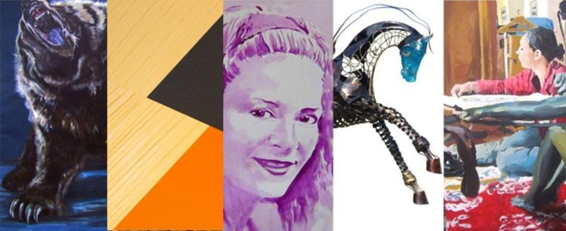The online art gallery france switzerland Les Koronin