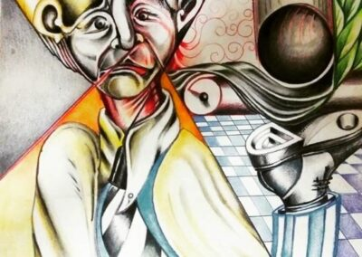 The France Suisse Online Art Gallery presents the artist Fabian Caro