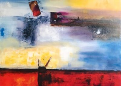 The online art gallery offers the French artist françoise augustine
