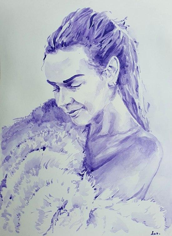Французско-швейцарская онлайн-галерея предлагает вам рисунок Артемиды Иренеус фон Басте.