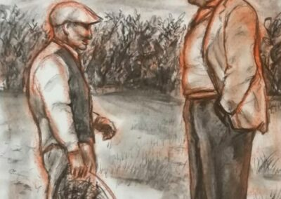 La galerie en ligne franco-suisse vous propose les dessins de Pietro Asaro.