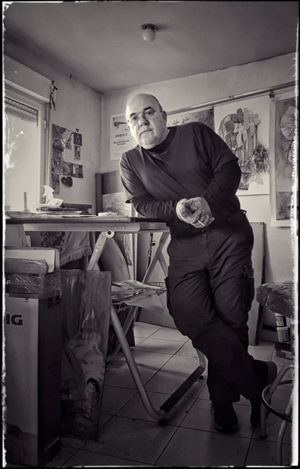 La galerie d'Art en ligne France Suisse présente l'œuvre graphique de Bernardino Rosada